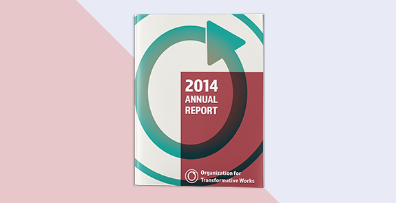Concept re-design of a non-profit annual report